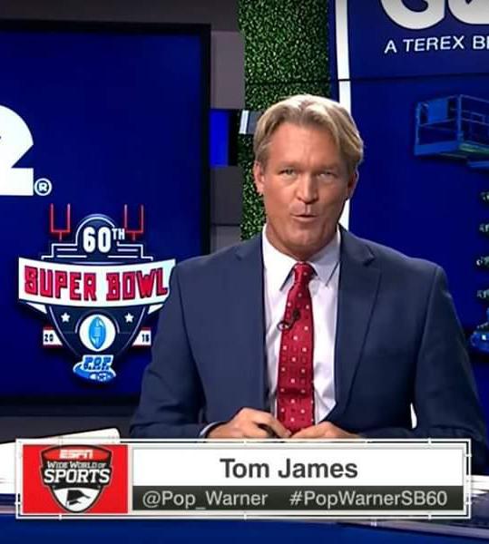 Tom James TV Host